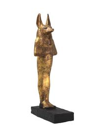 Gilded wooden jackal-headed figure of Duamutef from the tomb of Tutankhamun