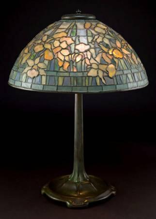 Tiffany Studios Daffodil Table Lamp Brings 56 763