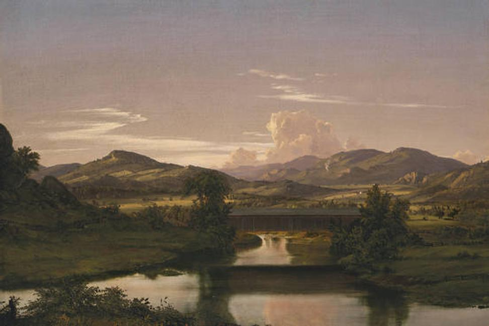 On Otter Creek by Frederic Edwin Church (1850)