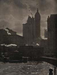 Alfred Stieglitz, The City of Ambitions, 1910.  Courtesy of the George Eastman Museum