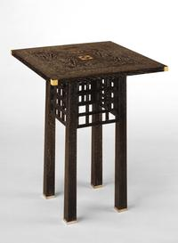 1904 side table by Josef Hoffmann
