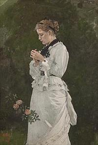 Thomas Colville Fine Art will show Winslow Homer's In The Garden.
