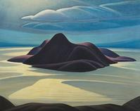 Lawren Harris, Pic Island, ca.  1924.  Oil on canvas.  48 1/2 × 60 5⁄8 in.  (123.3 × 153.9 cm).  McMichael Canadian Art Collection; Gift of Colonel R.  S.  McLaughlin.  ©Family of Lawren S.  Harris.  Image courtesy of McMichael Canadian Art Collection