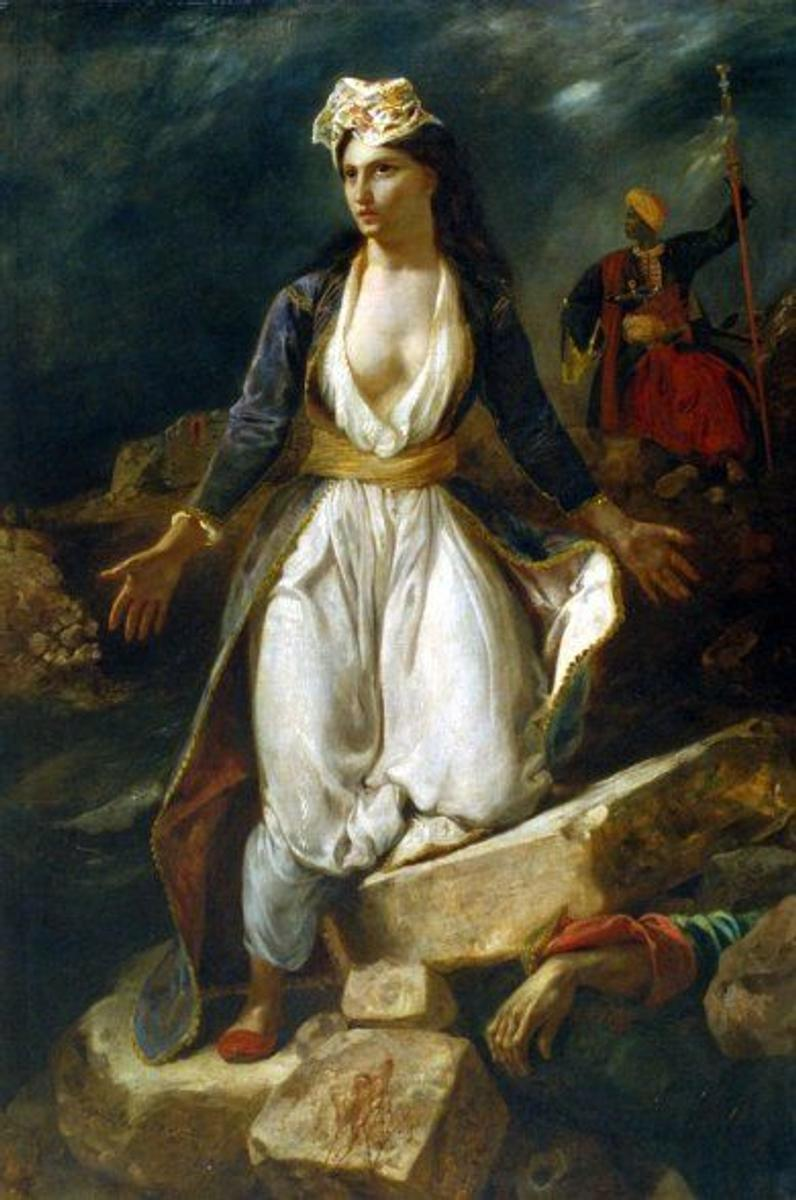 Delacroix's Famous Plea for Greek Independence Showcased ...