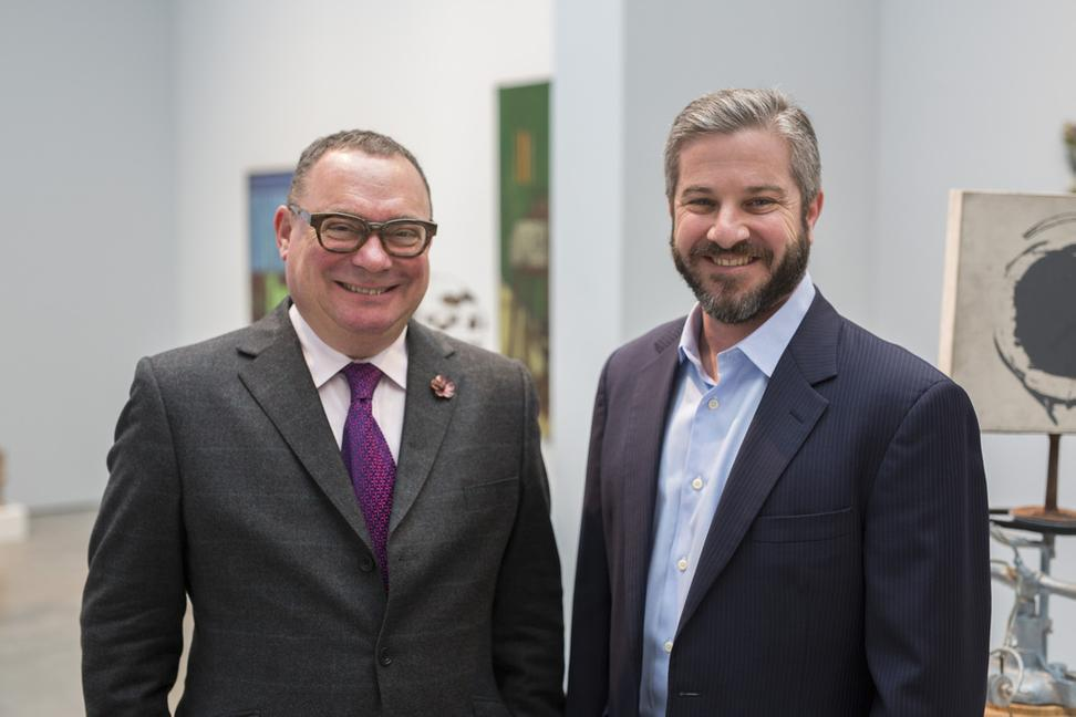 Paul Kasmin, owner of Paul Kasmin Gallery, and Rob Weisberg, CEO of Invaluable, announce the appointment of Paul Kasmin to Invaluable's Advisory Board.