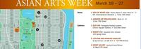 Asian Arts Week Map - a guide to event and gallery locations