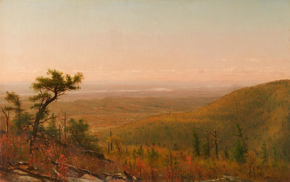 Worthington Whittredge 1820 1910 The Hudson Valley From Catskill Mountains 1898