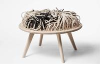 Nynne Faerch & Majken Mann, Design Collaboration, RUGchair, Textiles Furniture.