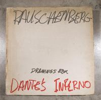 Set of 35 prints in color by Robert Rauschenberg (Am., 1925-2008), titled XXXIV Drawings for Dante's Inferno (1964), contained in a cloth-bound portfolio (est.  $8,000-$12,000).