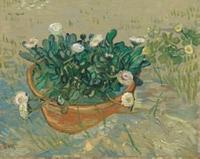Collector/Patron: Mr.  and Mrs.  Paul Mellon Vincent Van Gogh (1853-1890) (Dutch, Active in France, 1853-1890) Daisies, Arles, 1988 Oil on Canvas