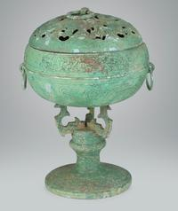 Early bronze tripod censer.  Gianguan Auctions, June 9th.