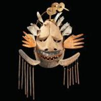Central Yup'ik, Napaskiaq Village, Kuskokwim River, Alaska.  Wanelnguq dance mask c.  1900.  Wood, feathers, pigment.  Collection of the National Museum of the American Indian, Smithsonian Institution, 9/3432.  Photo by NMAI Photo Services.Central Yup'ik, Napaskiaq Village, Kuskokwim River, Alaska.  Wanelnguq dance mask c.  1900.  Wood, feathers, pigment.  Collection of the National Museum of the American Indian, Smithsonian Institution, 9/3432.  Photo by NMAI Photo Services.