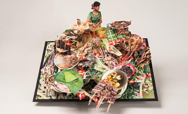 Incredible pop up books by colette fu explore human drama culture in