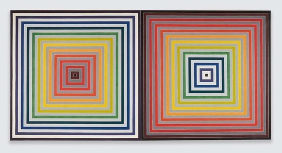 Frank Stella, Paradoxe sur le comediene, 1974, Synthetic polymer paint on canvas, Private Collection, NY © 2017 Frank Stella,/ Artists Rights Society (ARS), New York, Photo Credit: Jason Wyche