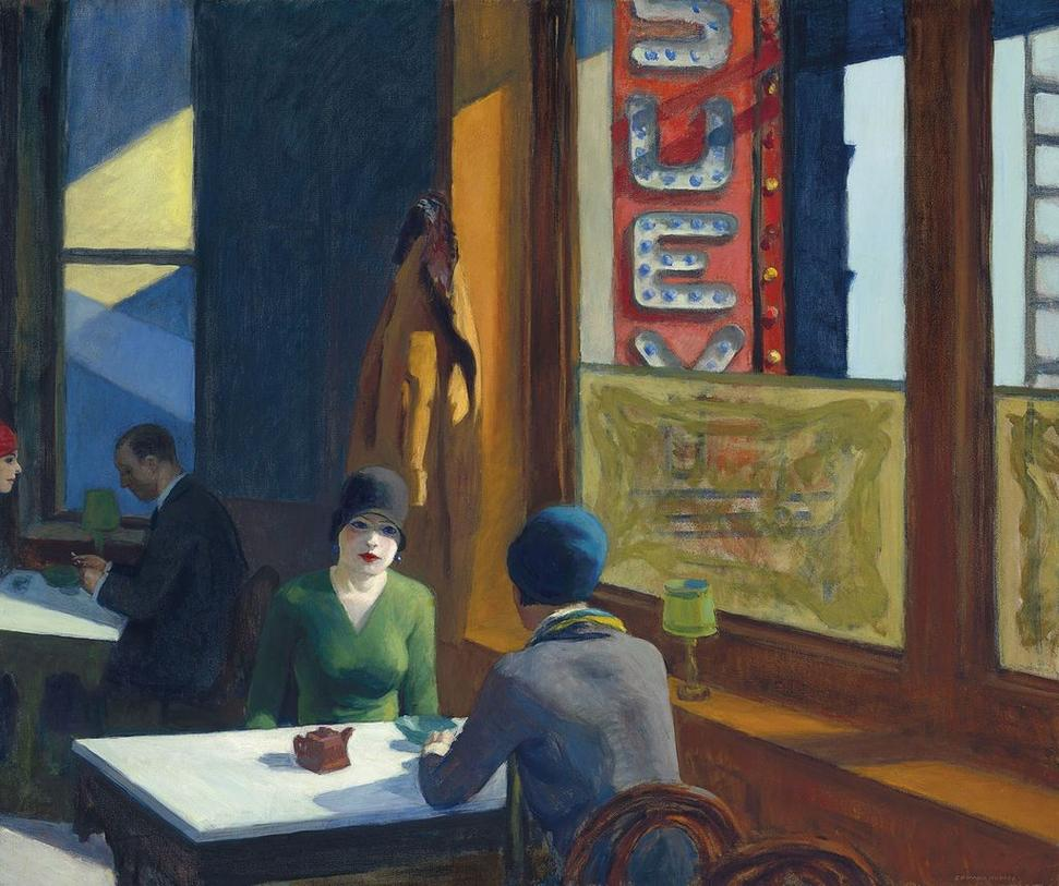 "Hopper's ""Chop Suey"" is expected to fetch around $70 million."