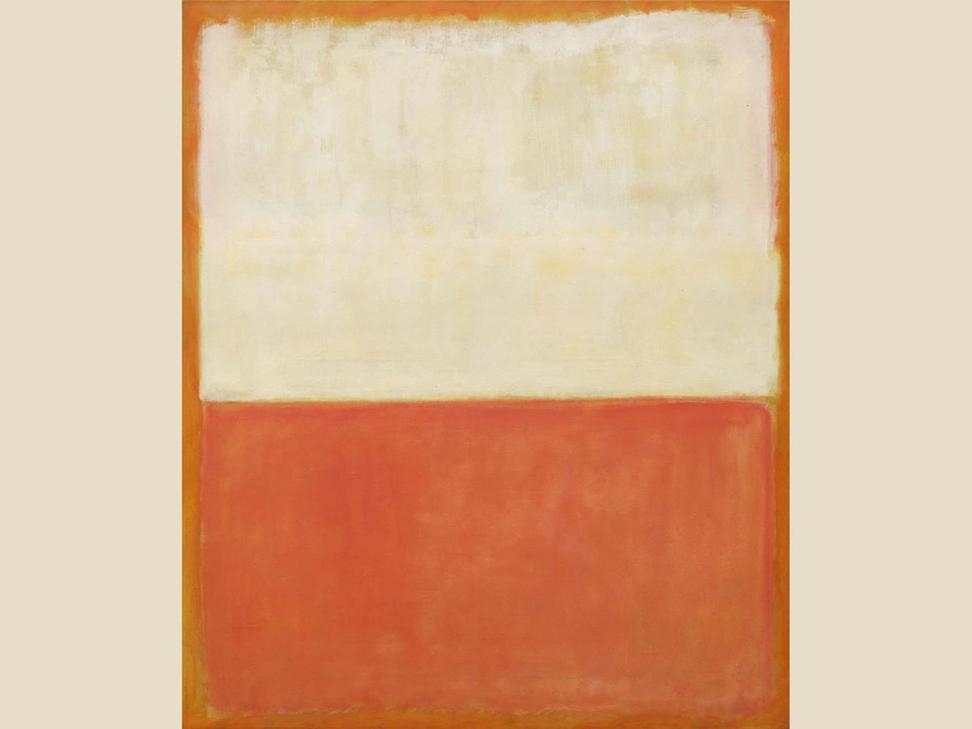 Mark Rothko, 'Untitled,' 1955.  Oil on canvas.  National Gallery of Art, Washington, Collection of Mrs.  Paul Mellon, in Honor of the 50th Anniversary of the National Gallery of Art.  © 1998 Kate Rothko Prizel & Christopher Rothko/Artists Rights Society (ARS), New York.