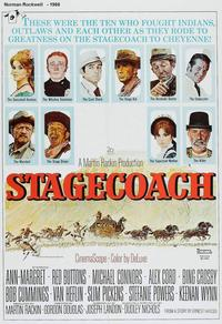 Norman Rockwell, Stagecoach Poster, 20th Century Fox, 1966