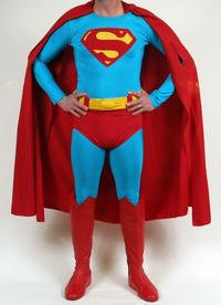 Superman costume reportedly worn by Dean Cain.