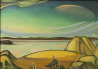 "Tarmo Pasto's ""Nevada Dawn"" also will be in Witherell's Sacramento Arts Auction."