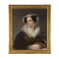 Thomas Sully (1783-1872) Jane Duval Leiper (1796-1866).  One of pair.