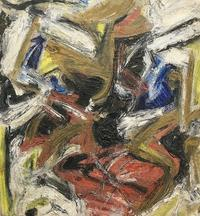 Untitled, Oil on canvas, 1959, 34 x 34