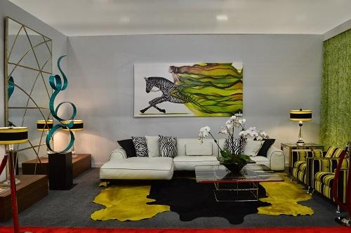 Bedia S Work Along With A Painting By Emil Bodourov Have Inspired Cuban American Designers Jorge Noa And Pedro Balmaseda To Create Room That Will Be