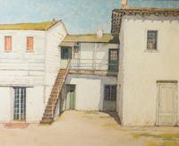 "M.  Evelyn McCormick's ""Fremont House"" is in Witherell's May 2-16 auction."