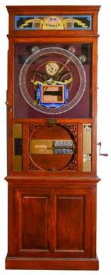 This rare, circa-1900 Yale Wonder Clock will be sold Sept.  21 at Fontaine's Auction Gallery.