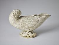 Parrot Lamp Ly Dynasty, 11th - 12th c.  A.D., Vietnam Length: 19.5cm