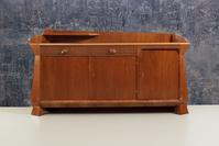 Felix Kayser Sideboard, c.  1925 Walnut and Maple, 48h x 92.50w x 22.80d in