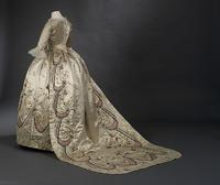 "Formal Ball Gown (robe parée).  Attributed to Marie-Jeanne ""Rose"" Bertin (French, 1747–1813) 1780s (with later alterations).  Royal Ontario Museum © ROM"