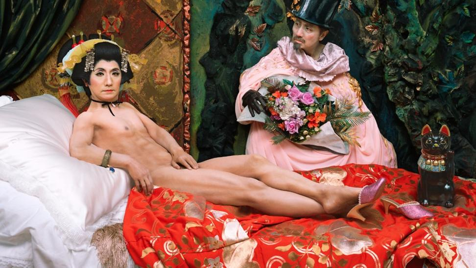 Yasumasa Morimura, Une modern Olympia, 2018.  Courtesy of the artist & Luhring Augustine, New York