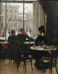 Robert Koehler At the Cafe