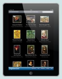 Art collections on DigitisedArt can be synced to iPad and almost anywhere through its API.