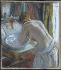 Edgar Degas, La Toilette, 1884-86, Private Collection