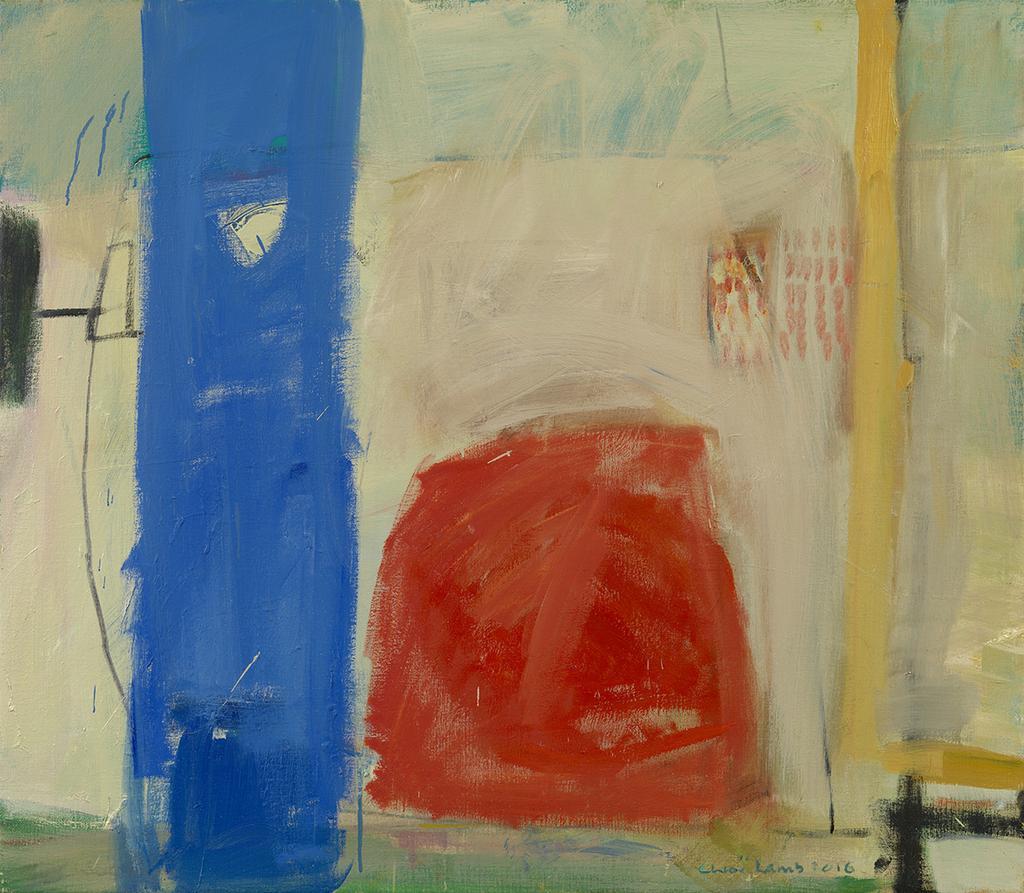 Color Harmonies New Paintings By Chloe Lamb