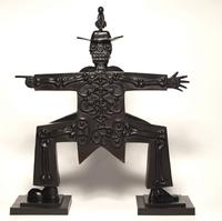 "Carlos Luna ""War Giro"", 2010, Bronze, 28.5 inches high"