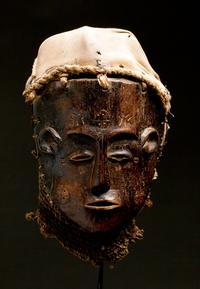 Mbundu Mask from Angola, circa late 19th to early 20th Century
