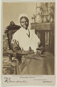 Sojourner Truth, Randall Studio (active 1865 - 1875?), c.  1870.