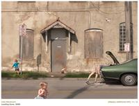 Artist: Julie Blackmon Title: Loading Zone Year: 2009 Medium: Archival Pigment Print Size: 22 x 29 inches Edition of 25 Courtesy of photo-eye Gallery