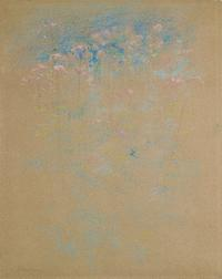 "John Henry Twachtman (1853-1902), ""Weeds and Flowers,"" ca.  1889-91, pastel on paper, 20 x 16 inches"