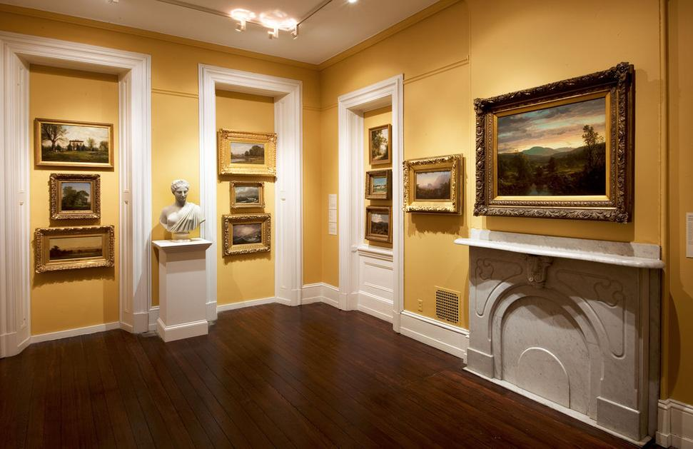 Woodmere Art Museum Interior