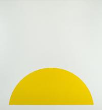 Walter Darby Bannard, Yellow Rose #1, 1963, Alkyd resin on canvas, 66 3/4 x 62 3/4 in.  (169.6 x 159.4 cm), BAN-00050