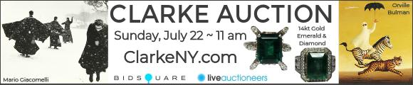 Clarke Auction - July 22 - ClarkeNY.com