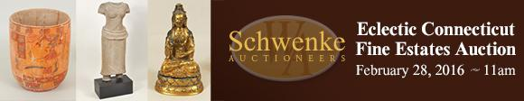 Eclectic Connecticut Fine Estates Auction - Schwenki Auctioneers - February 28
