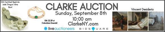 Clarke Auction - September 8 - ClarkeNY.com