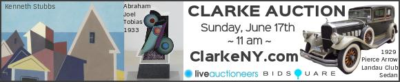Clarke Auction - Sunday June 17 - ClarkeNY.com