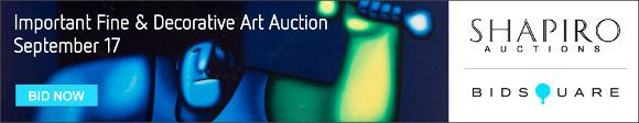 Important Fine and Decorative Art Auction - September 17 - Shapiro Auctions
