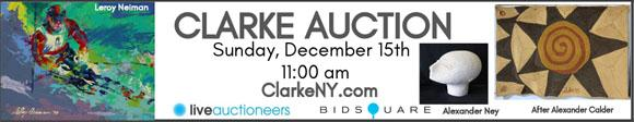 Clarke Auction - December 15