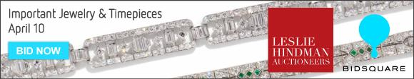 Jewelry and Timepieces - April 10 - Leslie Hindman
